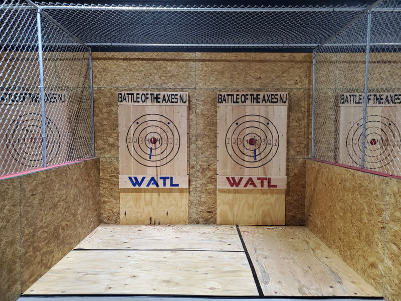 Battle of the Axes NJ Axe Throwing Targets