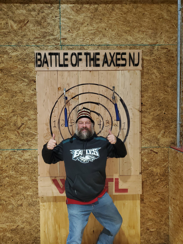 Battle of the Axes NJ Axe throwing - Killshot #killshotkev