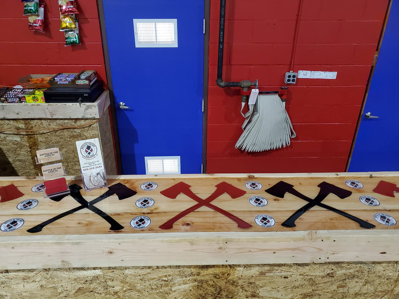 Battle of the Axes NJ Epoxy Bar - Hatchets